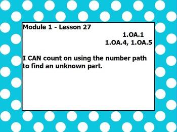 Eureka math module 1 lesson 27 first grade