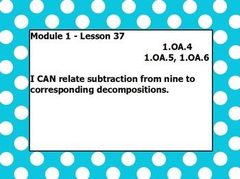 Eureka math module 1 lesson 37 first grade