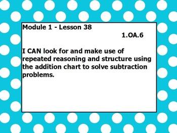 Eureka math module 1 lesson 38 first grade