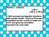 Eureka math module 1 lesson 6 first grade