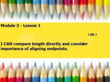Eureka math module 3 lesson 1 first grade