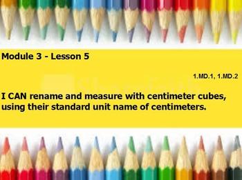 Eureka math module 3 lesson 5 first grade