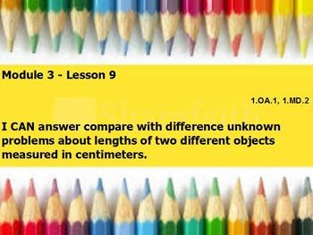 Eureka math module 3 lesson 9 first grade