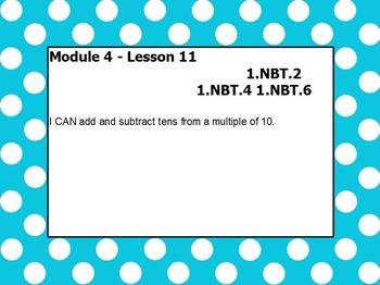 Eureka math module 4 lesson 11 first grade