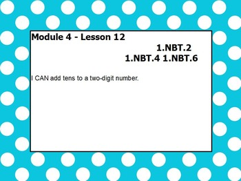 Eureka math module 4 lesson 12 first grade