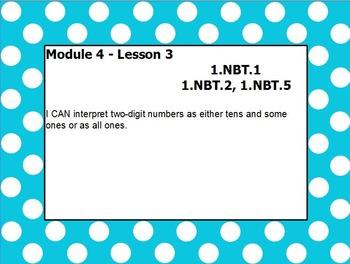 Eureka math module 4 lesson 3 first grade