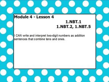 Eureka math module 4 lesson 4 first grade