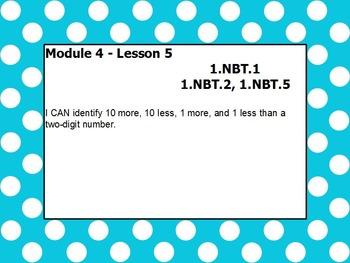 Eureka math module 4 lesson 5 first grade