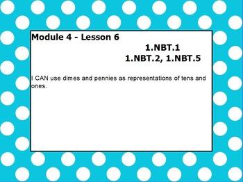 Eureka math module 4 lesson 6 first grade