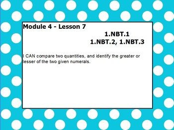 Eureka math module 4 lesson 7 first grade