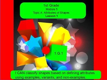 Eureka math module 5 lesson 1 first grade