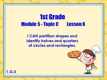 Eureka math module 5 lesson 8 first grade