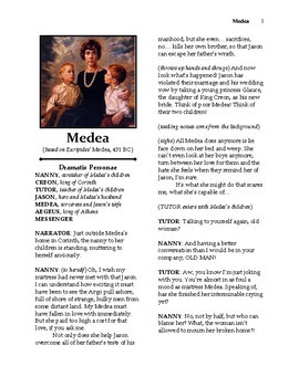 Euripides' Medea Readers Theater