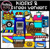 Kiosks & Street Venders (scribble clips)