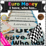 "Euro Money ""I have _, who has_?"" (4 Games for $1!)"