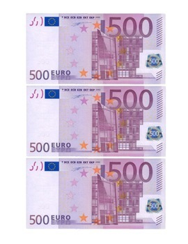 Euro Play Money Sheets Games/Participation (Italian, French, Spanish, German)