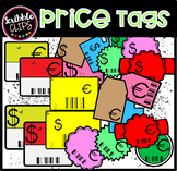 Euro and Dollar Price Tags!  (scribble clips)