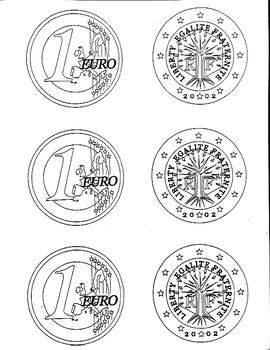 Euro coin for Class Rewards