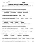 Euromaxx German Christmas Markets (YouTube Video Worksheet)