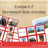 Europe A-Z Montessori Pack
