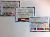 Europe, Africa, and South America Geography Maps, Flag, Bundle Assessments
