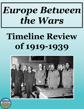 Europe Between the Wars Review Timeline
