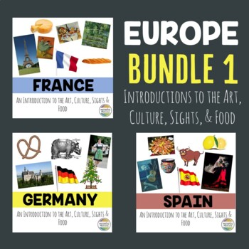 Europe Bundle 1: An Introduction to the Art, Culture, Sights, and Food