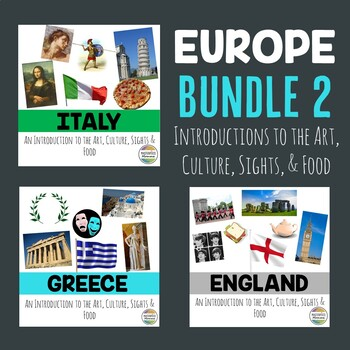 Europe Bundle 2: An Introduction to the Art, Culture, Sights, and Food