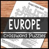 Europe Crossword Puzzles