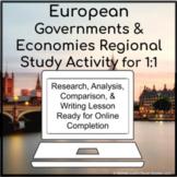 Europe European Countries Government & Economy 1:1 for Goo