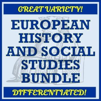 Europe / European History, Geography, and Social Studies - GROWING BUNDLE