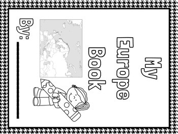 Europe Facts Lapbook