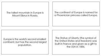 Europe Fun Facts