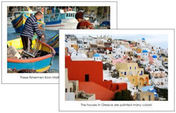 Europe Geography Folder