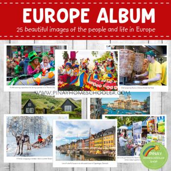 EUROPE Montessori Geography Folder
