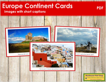 Europe Geography Folder (color borders)
