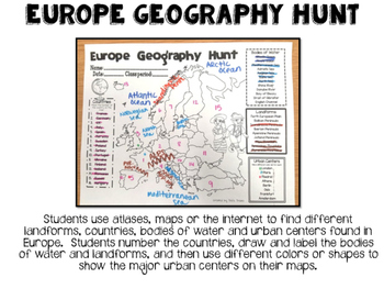 Europe Biome and Geography Hunt