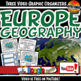 Europe Geography- Middle Ages YouTube Video Graphic Organi