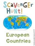 Europe: Geography Scavenger Hunt