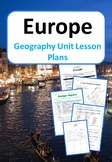 Europe - Geography Unit Lesson Plans