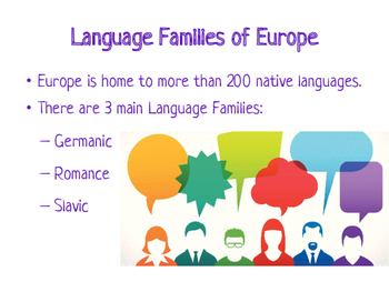 Europe: Language and Religion