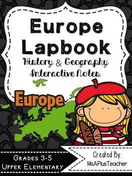 Europe Lapbook & Interactive Notes