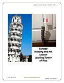Europe Leaning Tower of Pisa History Art Montessori Pre-K to 5th Common Core