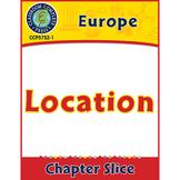 Europe: Location Gr. 5-8