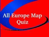 Europe Map Quiz (PowerPoint)