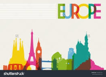 Europe Mapping Activity