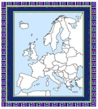 Europe Maps Free for Commercial Use