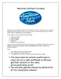 Europe National Anthem Contest