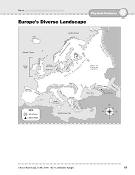 Europe: Physical Features: Diverse Landscape
