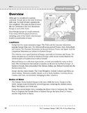 Europe: Physical Features: Overview & Review
